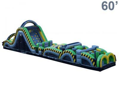 Caution Course Inflatable Obstacle Course - 60' Rental Cincinnati Ohio
