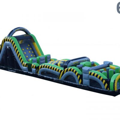 Caution Course Inflatable Obstacle Course - 60' Rental Cincinnati Ohio