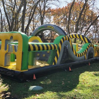 Caution Course Inflatable Obstacle Course - 35' Rental Cincinnati Ohio