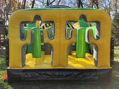 Caution Course Inflatable Obstacle Course - 35' Rental Cincinnati Ohio