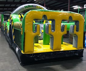 Caution Course Inflatable Obstacle Course Rental Cincinnati Ohio