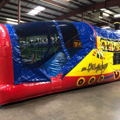 Choo Choo 3 in 1 Inflatable Bounce House Climb and Slide Combo Rental Cincinnati Ohio