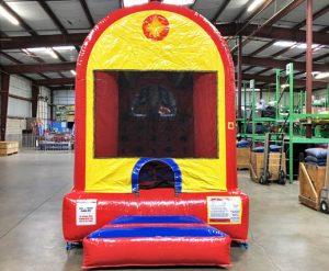 Choo Choo 3 in 1 Inflatable Bounce Climb and Slide Combo Rental Cincinnati Ohio