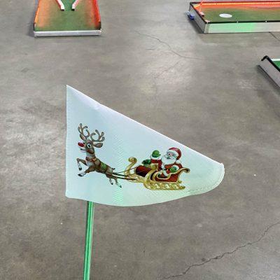 Christmas Santa and Reindeer Putt Putt Miniature Golf - 9 Hole Rental Cincinnati Ohio