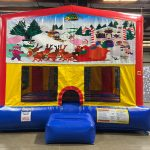 Christmas Playhouse - Customize-able Inflatable Bounce House Rental Cincinnati Ohio