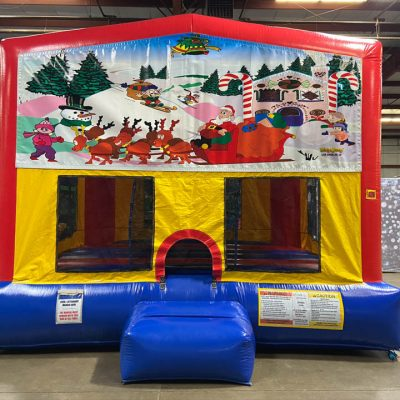 Christmas Playhouse - Customize-able Inflatable Bounce House Rental Cincinnati Ohio