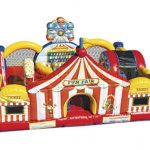 Inflatable Circus Carnival Kiddie Playland Rental Cincinnati Ohio