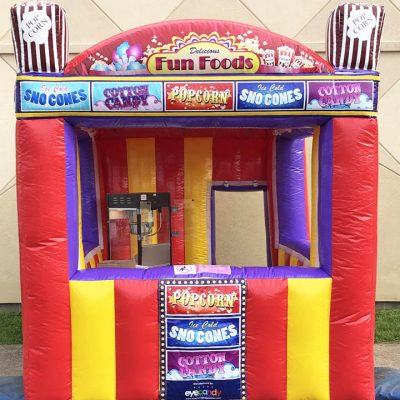 Inflatable Concession Food Booth Rental Cincinnati Ohio