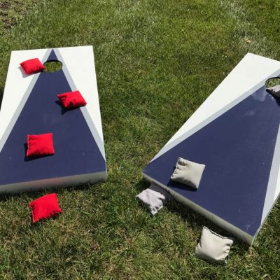 Cornhole bean bag toss game rental cincinnati ohio