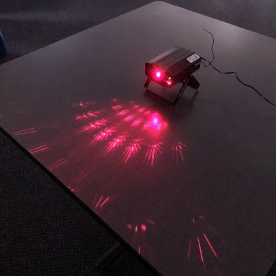 DJ Laser Light Red and Green Lights Rental Cincinnati Ohio