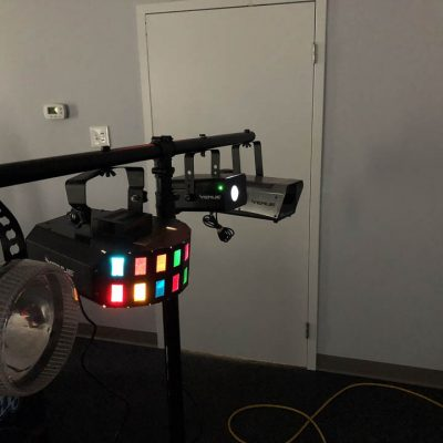 DJ Light System Color Strobe Fog Machine Rental Cincinnati Ohio