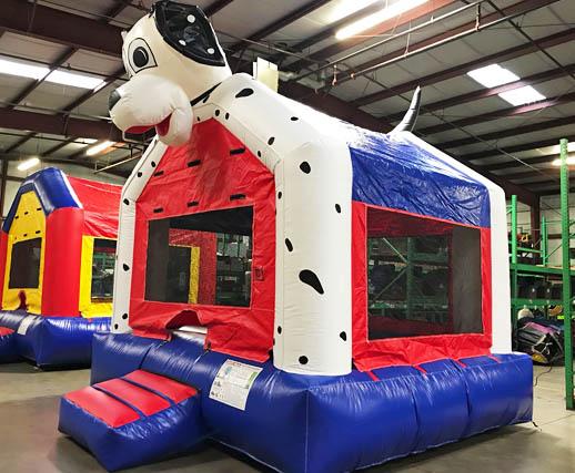 Fantastic Dalmatian Dog Inflatable Bounce House Rental Cincinnati A Home Interior And Landscaping Spoatsignezvosmurscom
