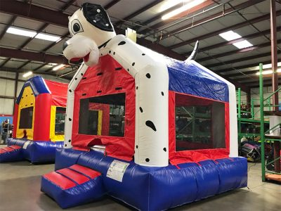 Dalmatian Dog Inflatable Bounce House Rental Cincinnati Ohio