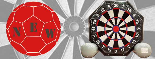 INFLATABLE DART BOARD – 10′ added to inventory