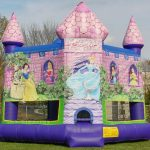 Disney Princess Castle Inflatable Bounce House Rental Cincinnati Ohio