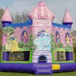 Disney Princess Castle Inflatable Bounce House Rental Cincinnati Ohio