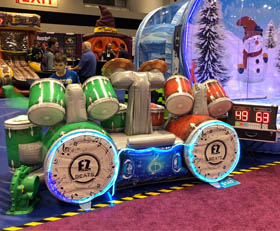 EZ Beats - Interactive Light and Sound Drum Inflatable Rental - Cincinnati, Ohio