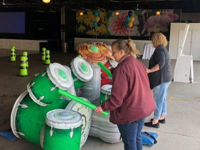 EZ Beats - Interactive Light and Sound Drum Inflatable Rental - Cincinnati, Ohio