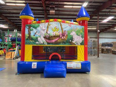 Easter Custom Castle Bounce House Renal Cincinnati Ohio