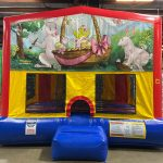 Easter Playhouse - Customize-able Inflatable Bounce House Rental Cincinnati Ohio