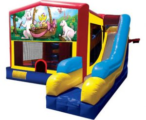 Easter Playhouse Inflatable Bounce House and Slide Combo Rental Cincinnati Ohio