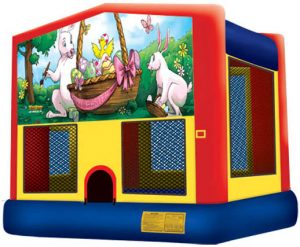 Panel - Easter for Playhouse - Bounce House, Castle - Bounce House, Playhouse Combo Rental Cincinnati Ohio