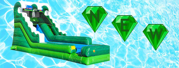 EMERALD WATER SLIDE added to inventory!