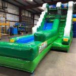 Emerald Inflatable Water Slide Rental Cincinnati Ohio