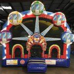 Ferris Wheel Carnival Bounce House with Lights Inflatable Rental Cincinnati Ohio
