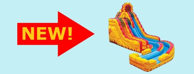 "FIRE ""N"" ICE WATER SLIDE added to inventory!"