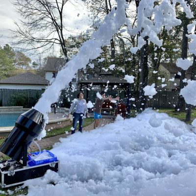 Foam Cannon - Backyard Foam Pool Party Rental Cincinnati Ohio