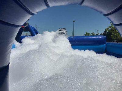 Foam Machine Inflatable Dance Pit Rental Cincinnati Ohio