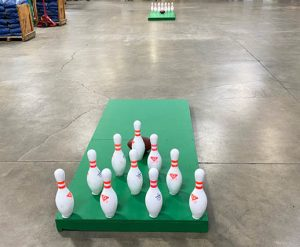 Portable Football Bowling Rental Cincinnati Ohio