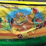 Football Fumble Inflatable Giant hungry hippo chow down rental cincinnati ohio