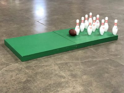 Portable Football Bowling Fowling Rental Cincinnati Ohio