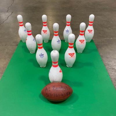 Portable Football Bowling Fowling Rental Cincinnati Ohio