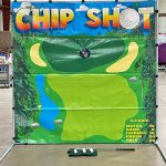 Chip Shot Golf Challenge Frame Carnival Game Rental Cincinnati