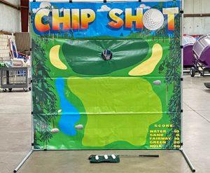 Chip Shot Golf Challenge Frame Carnival Game Rental Cincinnati