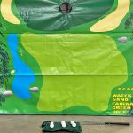 Frame Carnival Game Golf Chip Shot Challenge Rental Cincinnati Ohio