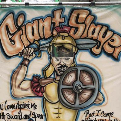 Carnival frame game David & Goliath Giant Slayer Rental Cincinnati Ohio