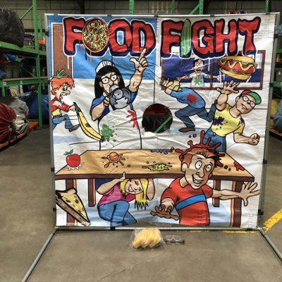 Carnival Frame Game Pie in the face food fight rental cincinnati ohio