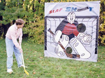 carnival frame game hockey slap shot rental cincinnati ohio