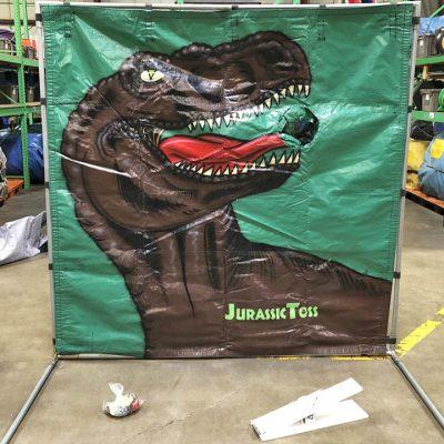 Carnival Frame Game Dinosaur Jurassic Toss Rental Cincinnati Ohio