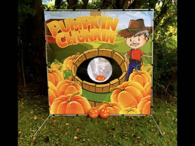 Carnival frame game pumpkin fall harvest halloween party rental cincinnati ohio