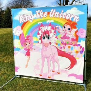 ring toss unicorn horn carnival game rental cincinnati ohio