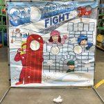 carnival frame game snowball fight rental cincinnati ohio