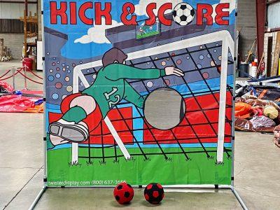 Soccer Kick & Score Frame Game Rental Cincinnati Ohio