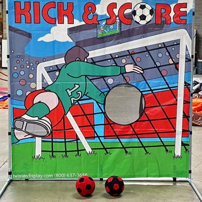 Soccer Kick & Score Frame Game Rental Cincinnati Ohio