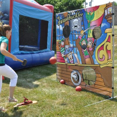 carnival frame game swashbuckler pirate ship cannon ball rental cincinnati ohio