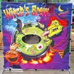 Carnival Frame Game Halloween Witch's Brew Cauldron Rental Cincinnati Ohio